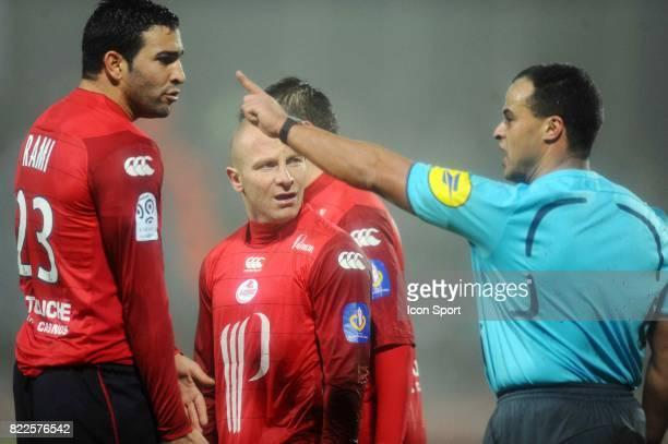 Adil RAMI / Florent BALMONT / Said ENNJIMI Lille / PSG 20e journee Ligue 1 Villeneuve d'Asq