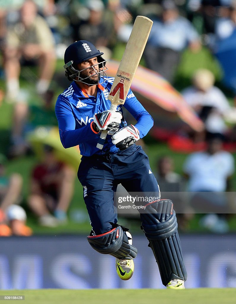 <a gi-track='captionPersonalityLinkClicked' href=/galleries/search?phrase=Adil+Rashid&family=editorial&specificpeople=870228 ng-click='$event.stopPropagation()'>Adil Rashid</a> of England bats during the 3rd Momentum ODI match between South Africa and England at Supersport Park on February 9, 2016 in Centurion, South Africa.