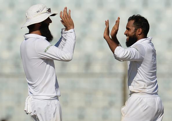 Bangladesh v England - First Test: Day OTwo : News Photo