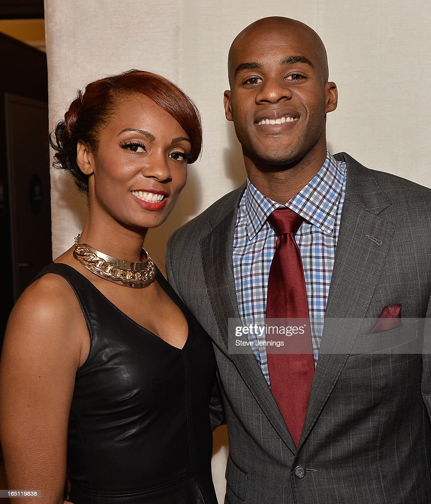Adina Murrey and Ron Clifton (L-R) attend the 6th Annual 'Where Hip Hop Meets Couture' Fashion Show at Dog Patch Wine Works on March 30, 2013 in San Francisco, California.