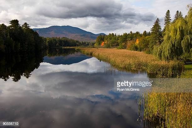 Adirondacks lake reflection