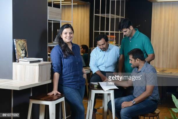 Aditi Avasthi CEO Achint Thomas Principal Data Scientist Dhaval Makwana Principal Data Scientist and Keyur Faldu Chief Data Scientist at Embibe The...