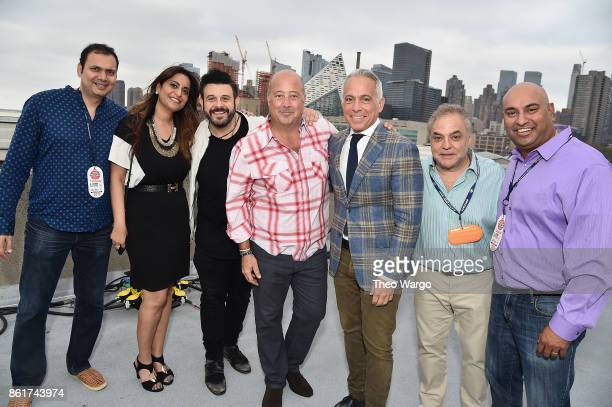 Aditi Gokhale Sameer Gokhale Adam Richman Andrew Zimmern Geoffrey Zakarian Founder and director of the Food Network Cooking Channel New York City...