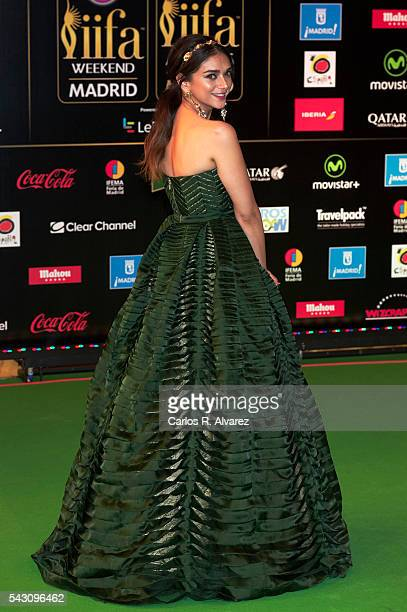 Aditi Rao Hydari attends the 17th IIFA Awards at Ifema on June 25 2016 in Madrid Spain