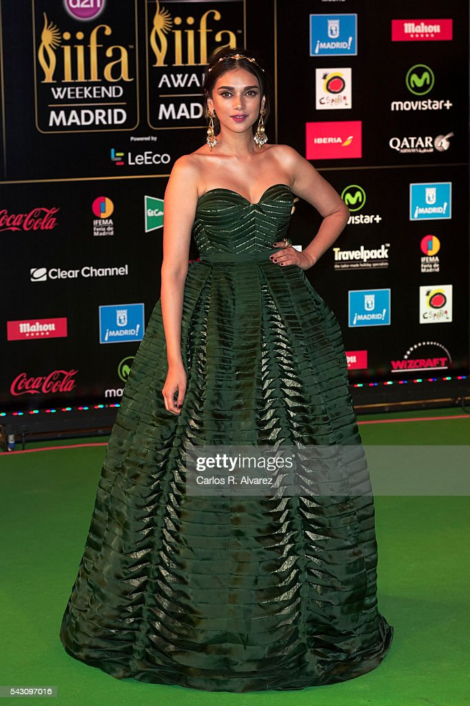 <a gi-track='captionPersonalityLinkClicked' href=/galleries/search?phrase=Aditi+Rao+Hydari&family=editorial&specificpeople=7435722 ng-click='$event.stopPropagation()'>Aditi Rao Hydari</a> attends the 17th IIFA Awards (International Indian Film Academy Awards) at Ifema on June 25, 2016 in Madrid, Spain.