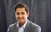 Aditya Mittal chief financial officer of ArcelorMittal and chief executive officer of ArcelorMittal Europe poses for a photograph in the company's...