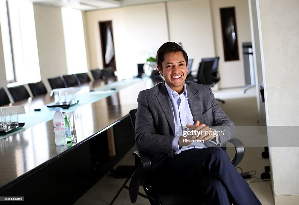 Aditya Mittal chief financial officer of ArcelorMittal and chief executive officer of ArcelorMittal Europe speaks during an interview at the...