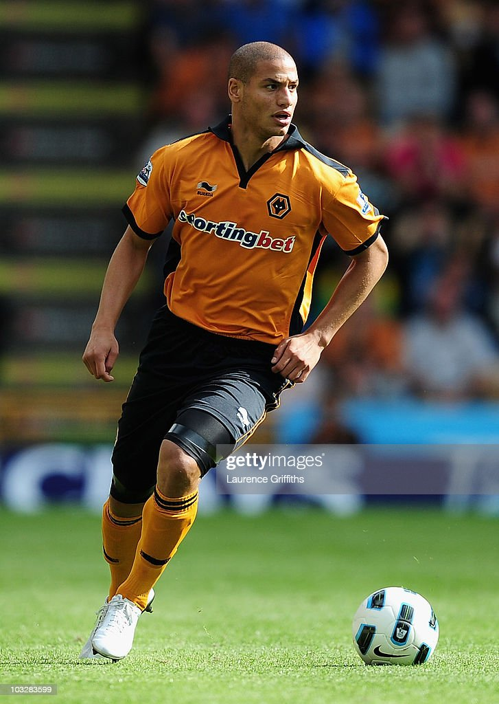 Adlene Guedioura of Wolverhampton Wanderers in action during the Pre Season Friendly match between Wolverhampton Wanderers and Atletico Blbao at Molineux on August 7, 2010 in Wolverhampton, England.