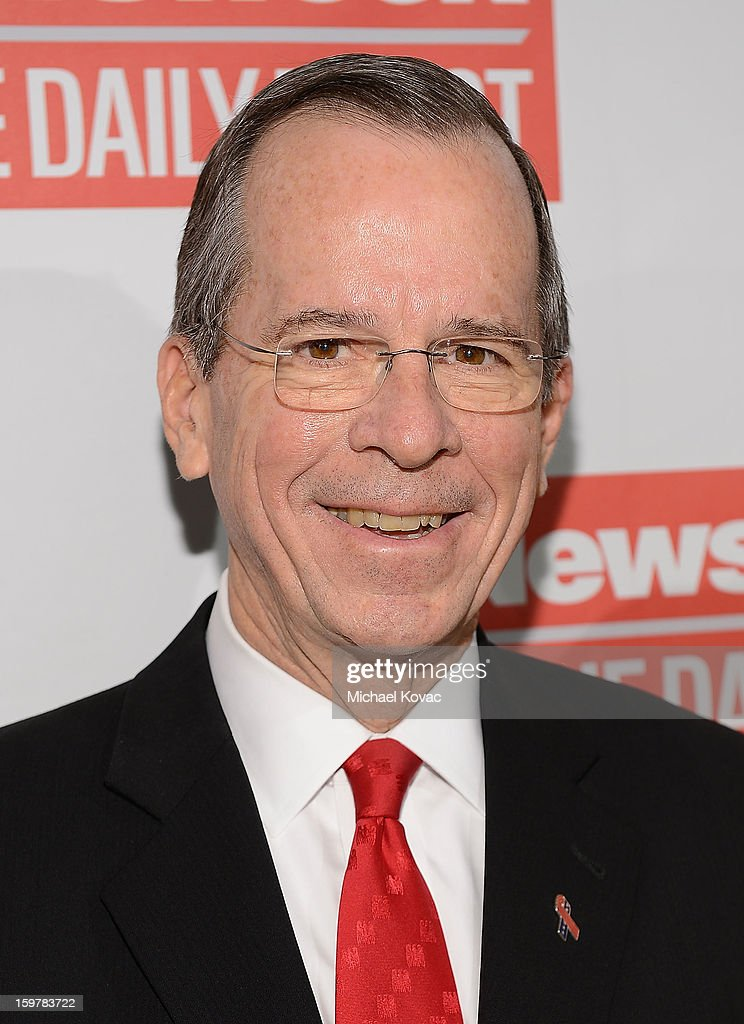 Adm. Mike Mullen attends The Daily Beast Bi-Partisan Inauguration Brunch at Cafe Milano on January 20, 2013 in Washington, DC.