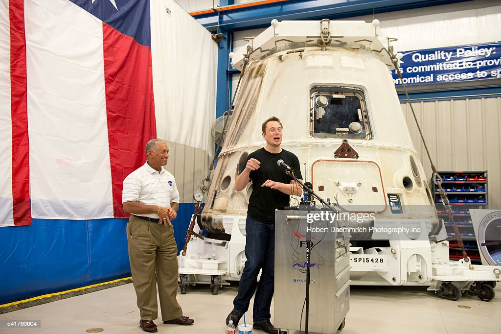 NASA administrator Charles Bolden and SpaceX CEO and Chief Designer Elon Musk answer questions about the private Dragon spacecraft that returned to...