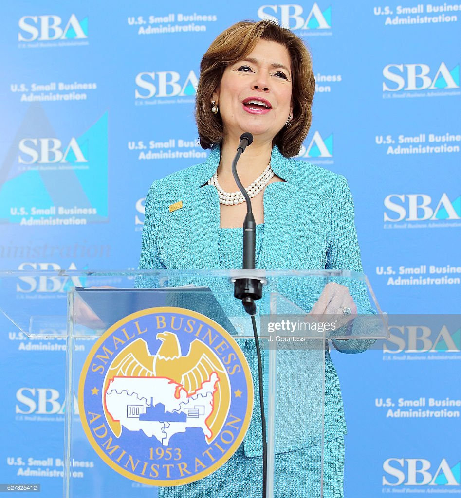 Administrator of the U.S. Small Business Administration Maria Contresras-Sweet speaks on Day 2 of National Small Business Week 2016 at the United States Institute of Peace on May 2, 2016 in Washington City.