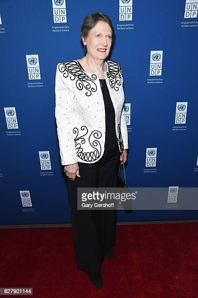 Administrator United Nations Development Programme Helen Clark attends the 2016 United Nations Development Programme Global Goals Gala at Phillips on...