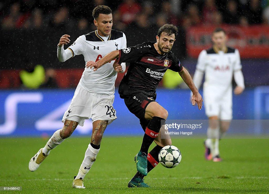 Bayer 04 Leverkusen v Tottenham Hotspur FC - UEFA Champions League : News Photo