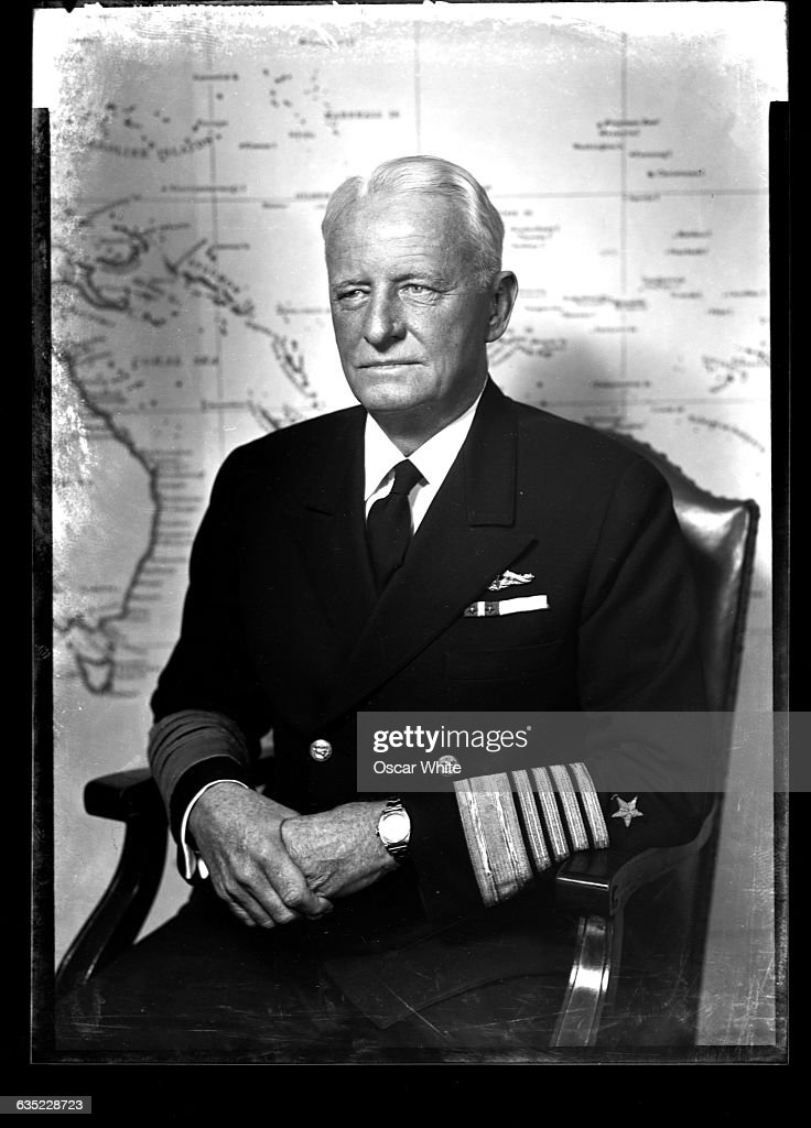 Admiral Chester William Nimitz, as admiral of the United States Pacific fleet during World War II, led the fleet in several key battles, including Iwo Jima and Midway.