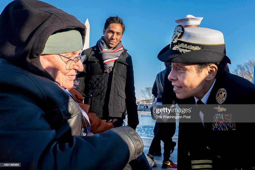 Admiral Michelle Howard the 38th Vice Chief of Naval Operations and the first woman fourstar admiral in the history of the Navy thanks Pearl Harbor...