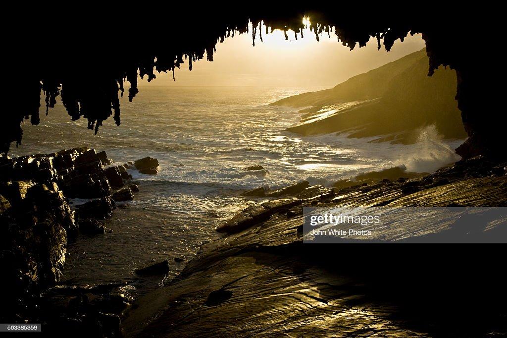 Admirals Arch. Kangaroo Island. Australia.