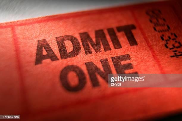 Eintrittsgebühr-Ticket
