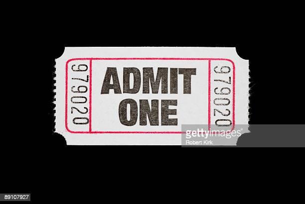 Admisssion Ticket