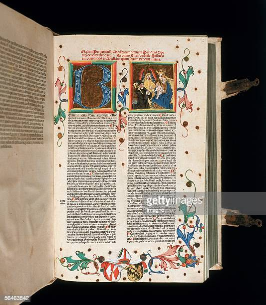 Admont StyriaBenedictine monastery Monastery library Codex xxx illuminated manuscript Photography by Gerhard Trumler [Admont St BenediktinerStift...