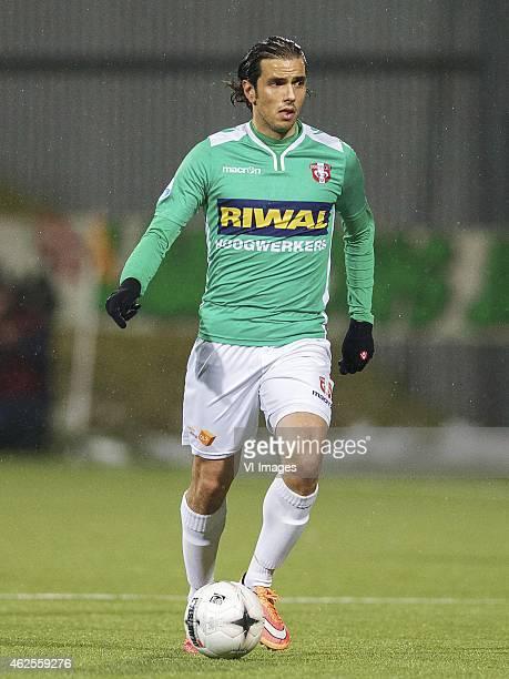 Adnan Alisic of FC Dordrecht during the Dutch Eredivisie match between FC Dordrecht v SC Heerenveen at the Riwal Hoogwerkers Stadium on january 30...