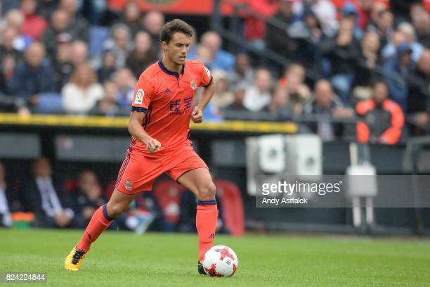 ROTTERDAM NETHERLANDS JULY Adnan Januzaj from Real Sociedadduring the friendly match between Feyenoord and Real Sociedad at De Kuip or Stadion...