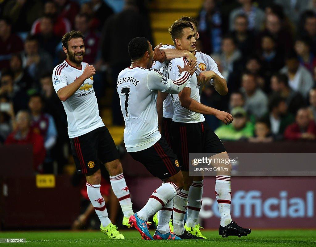 Aston Villa v Manchester United - Premier League