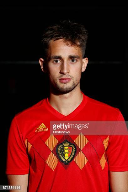Adnan Januzaj Official team picture during the photoshoot of the Red Devils at the national training center on November 07 2017 in Tubize Belgium