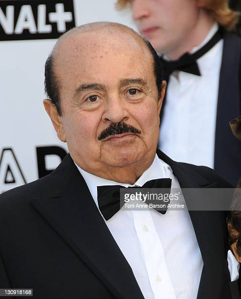 Adnan Khashoggi arrives at amfAR's Cinema Against AIDS 2008 benefit held at Le Moulin de Mougins during the 61st International Cannes Film Festival...