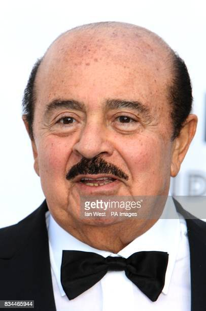Adnan Khashoggi arrives for the amfAR Gala during the 61st Cannes Film Festival in Cannes France