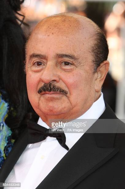 Adnan Khashoggi arrives for the screening of 'Indiana Jones and the Kingdom of the Crystal Skull' during the 61st Cannes Film Festival in Cannes...