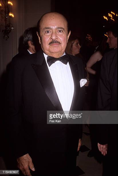 Adnan Khashoggi attends the Bests Awards 2007 Ceremony Party at the Bristol on December 9 2007 in Paris France