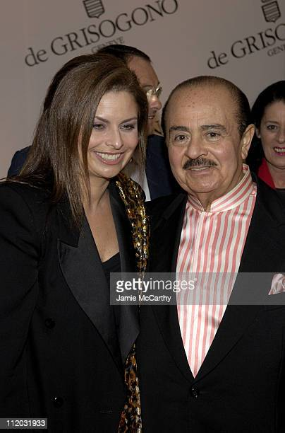 Adnan Khashoggi during 2005 Cannes Film Festival de Grisogono Party at Hotel Du Cap in Cannes France
