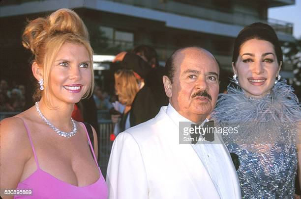 Adnan Khashoggi during 53rd Cannes Film Festical amfAR's Cinema Against AIDS 2000 at Cannes Film Festival in Cannes France