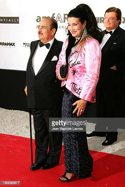 Adnan Khashoggi during amfAR 'Cinema Against AIDS' Gala Presented by Miramax Films Palisades Pictures and Quintessentially Arrivals at Le Moulins de...