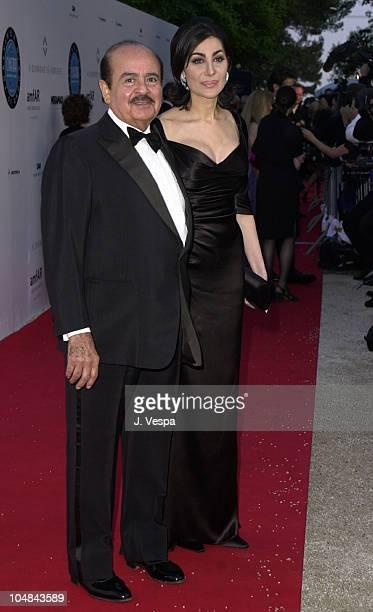 Adnan Khashoggi during Cannes 2001 amfAR's A Diamond is Forever Cinema Against AIDS Benefit at the Cannes Film Festival the event raised 2 million...