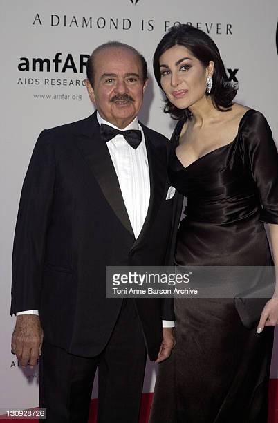 Adnan Khashoggi during Cannes 2001 amfAR's A Diamond is Forever Cinema Against AIDS Benefit at the Cannes Film Festival at Le Moulin de Mougins in...