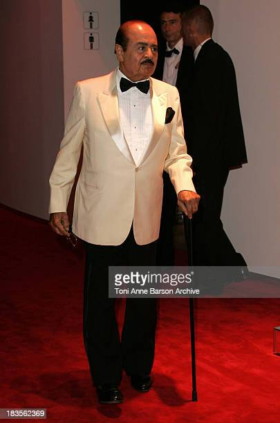 Adnan Khashoggi during Monaco Red Cross Ball 2004 Arrivals at Monte Carlo Sporting Club in MonteCarlo