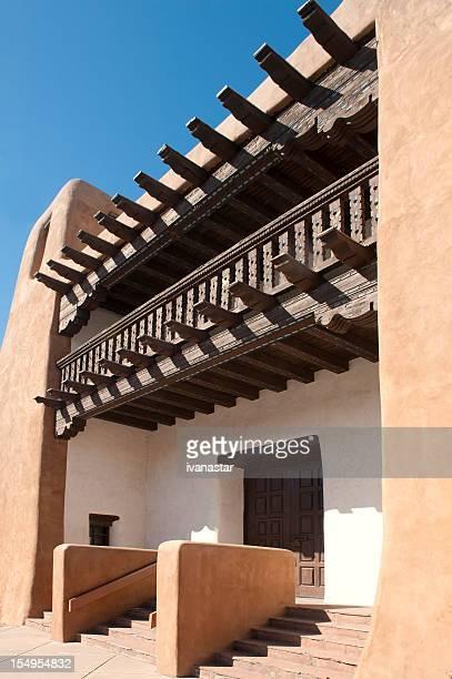 Adobe Building - Art Museum in Santa Fe
