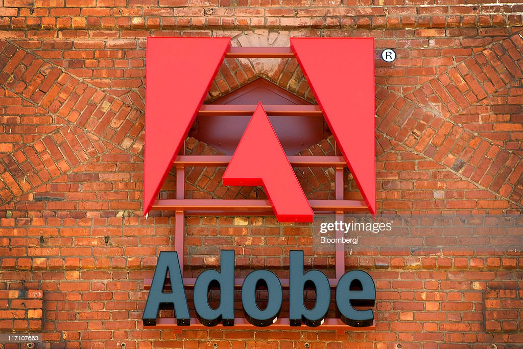 adobe san francisco office. adobe systems inc signage is displayed outside of the companyu0027s office in san francisco a