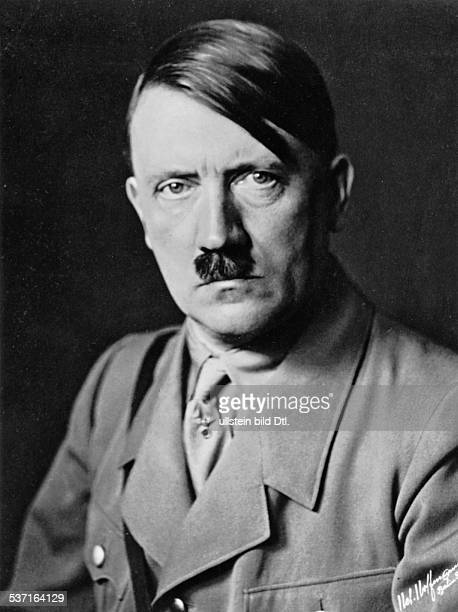 Adolf Hitler Adolf Hitler Politician Nazi Party Germany portrait photo Heinrich Hoffmann 1933