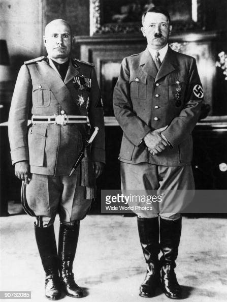 an comparison of hitlers germany and mussolinis italy 2017-9-22  three new deals: why the nazis and fascists loved fdr  mussolini's italy, and hitler's germany, 1933-1939 by wolfgang.