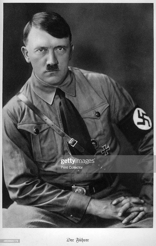 A biography of adolf hitler a dictator of germany