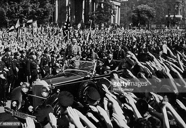 nazi germany and adolf hitler1 Mystery surrounded the death of adolf hitler for many years  a low ranking nazi official who had the authority to perform a civil wedding was brought in by goebbels.