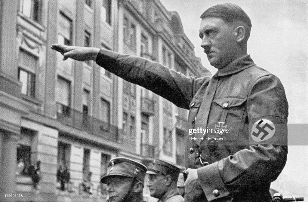 Adolf Hitler in Munich in the spring of 1932