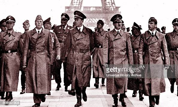 Adolf Hitler with Albert Speer in Paris after the German occupation of northern France 1940