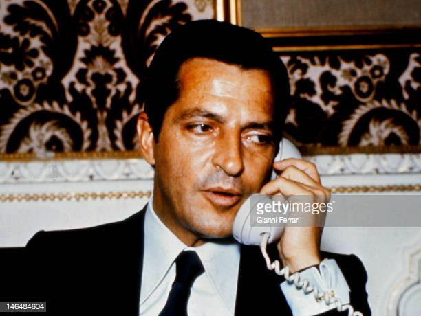 Adolfo Suarez President of the Spanish government from 1977 to 1981 Madrid Spain