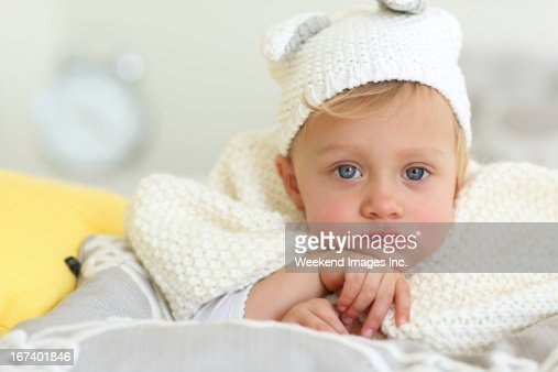 Adorable baby : Stock Photo