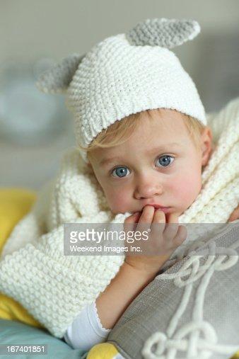 Adorable baby : Bildbanksbilder