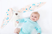 http://www.istockphoto.com/photo/adorable-cute-newborn-baby-girl-with-easter-bunny-toy-gm655794714-119314333