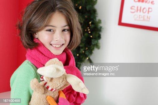 Adorable girl : Stock Photo